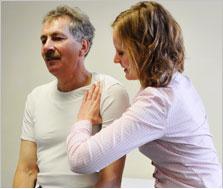 Ergotherapie Neurologie, Mobilisation Schultergelenk