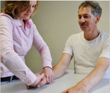 Ergotherapie Orthopädie/Chirurgie, Mobilisation Handgelenk