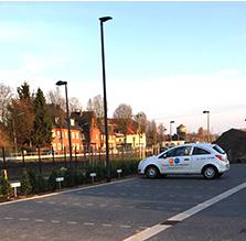 Ansicht Parkplatz
